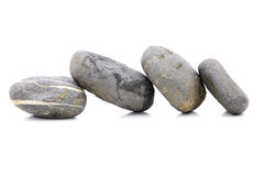 Zen Stone. Zen And Spa Stones Over White Background Stock Images