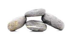 Zen Stone. Zen And Spa Stones Over White Background Royalty Free Stock Images