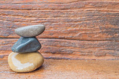 Zen Stone Στοκ Εικόνα