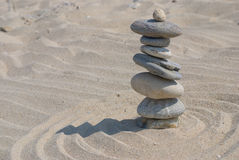 Zen stone Royalty Free Stock Image