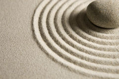 Zen stone Royalty Free Stock Photo