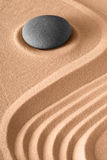 Zen stone background. Rock and sand lines pattern for harmony serenity and relaxation in spa wellness meditation buddhism and yoga stock images