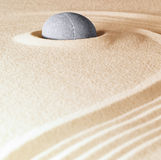 Zen stone background Stock Photography