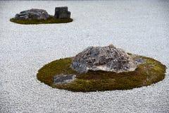 Zen Stone Garden royalty-vrije stock afbeelding