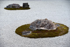 Zen Stone Garden Royalty Free Stock Image