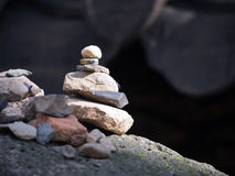 Zen stone Royalty Free Stock Images