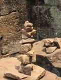 Zen Stone Meditation Images libres de droits