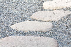 Zen stone path Stock Photos