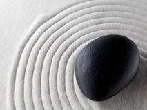 Zen stone Stock Photo