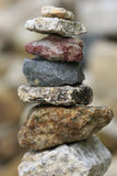 Zen stone tower Royalty Free Stock Photos