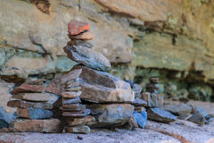 Zen Stone Tower Royaltyfria Bilder