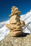 Zen Stone Tower Images stock