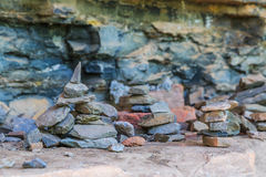 Zen Stone Tower Royalty Free Stock Images