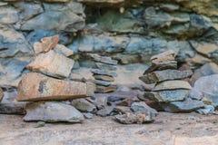 Zen Stone Tower Royalty Free Stock Image
