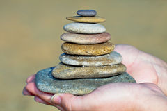 Zen stones Stock Photography