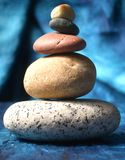 Zen stones. And the meditation stock image