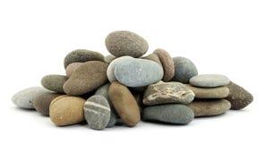 Zen stones. On pile studio isolated Stock Photos
