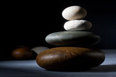 Zen stones Royalty Free Stock Photos