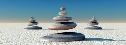 Free Zen Stones Stock Photography - 57144952