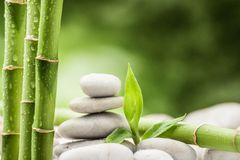 Zen stones royalty free stock images