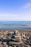 Zen stones on a beach. Stock Photography