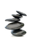 Zen stones isolated Royalty Free Stock Photo