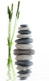 Zen stones near water Stock Photos