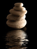 Zen stones pile Stock Photo