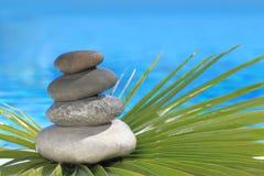 Zen stones pyramid Stock Image
