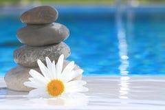 Zen stones pyramid Stock Photography