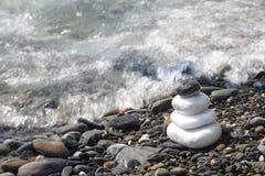 Zen stones. Relaxing Balance  stones Royalty Free Stock Photography