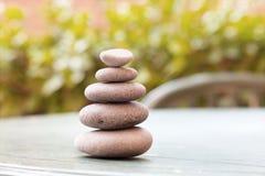 Zen stones, Rock cairn Royalty Free Stock Photography