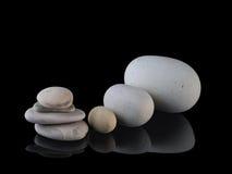 Zen stones rocks spa in stack mindfulness Stock Image