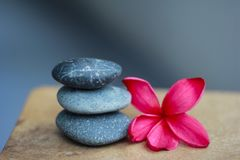 Zen stones spa stock photos
