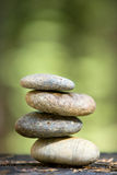 Zen stones stacked Stock Photo