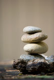 Zen stones stacked Royalty Free Stock Image