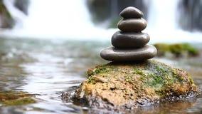 Zen stones and stock footage