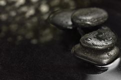 Zen stones in a water Royalty Free Stock Image