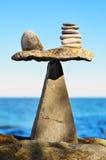Zen symétrique Photos stock