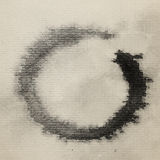 Zen symbol watercolor painted Royalty Free Stock Photos