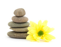 Zen therapy stones Royalty Free Stock Photos