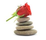 Zen therapy stones Stock Photo