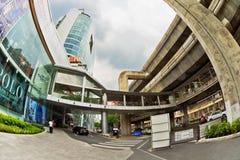 Zen trade centre outside Stock Photo