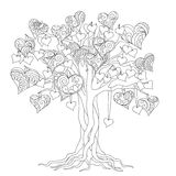 Zen tree of love Royalty Free Stock Photo
