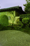 Zen-tuin nacht Royalty-vrije Stock Foto's