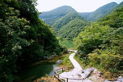 Zen Valley Fotografie Stock Libere da Diritti