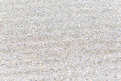 Zen white gravel garden Stock Photo