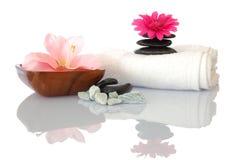 Zen y balneario de la salud Imágenes de archivo libres de regalías