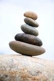 Zen zoals stenen Royalty-vrije Stock Foto