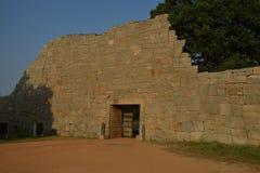 Entrance to the Zenana Enclosure, Hampi, Karnataka, India Stock Images